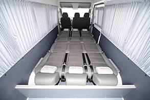 Mercedes-Benz Sprinter Classic Corporate Minibus пассажирский микроавтобус 9 мест кемпер - спальное место