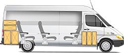 Mercedes-Benz Sprinter Classic Minibus Express микроавтобус 8+1 мест и багаж