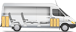 Mercedes-Benz Sprinter Classic Minibus Express микроавтобус кемпер - спальное место и 3+1 мест