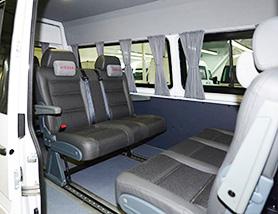 Mercedes-Benz Sprinter Classic Minibus Express микроавтобус салон-трансформер 8 мест (3+2+3)