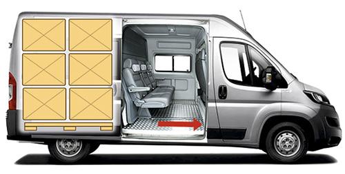 Грузопассажирский микроавтобус Peugeot Boxer Profi Transformer 2 in 1 с салоном трансформером RIVIERA
