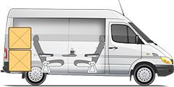 Mercedes-Benz Sprinter Classic Corporate Minibus пассажирский микроавтобус 9 мест бизнес - купе
